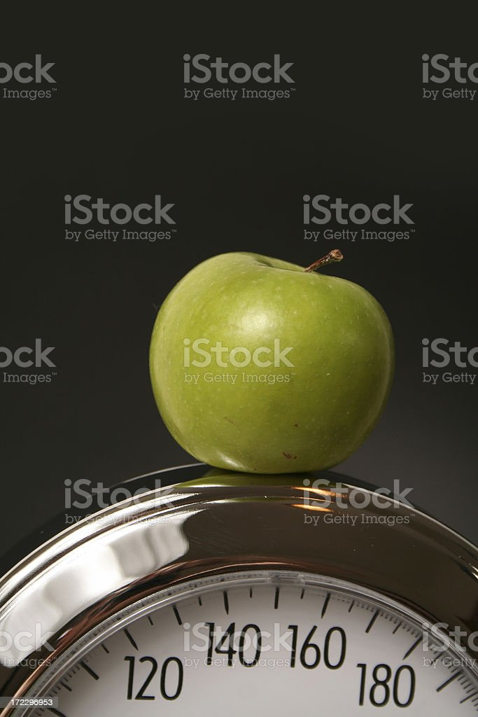 Weighing Scale royalty-free stock photo