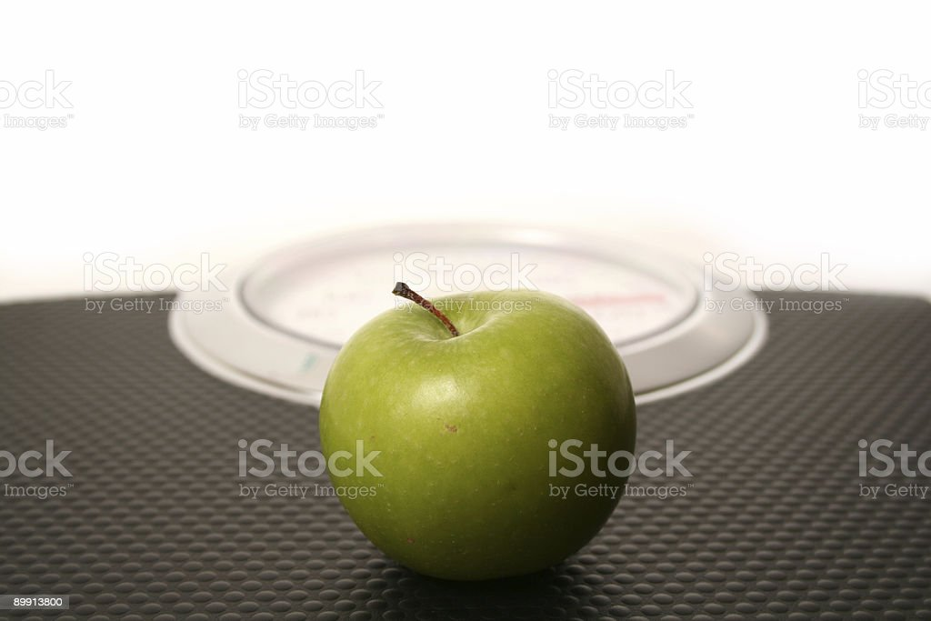Weighing Scale royalty free stockfoto