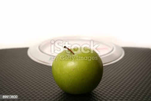 Weighing Scale Stock Photo & More Pictures of Apple - Fruit