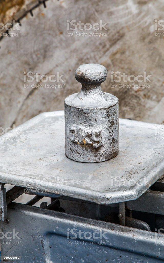 1 kg de peso - foto de stock