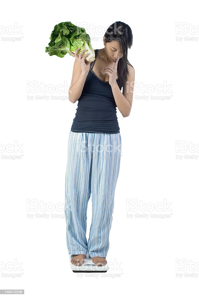 Weight control food royalty-free stock photo