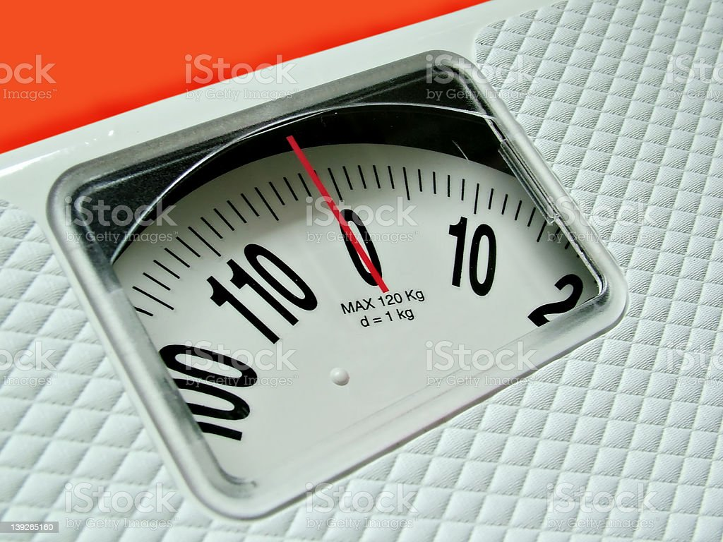 weight Counter royalty-free stock photo