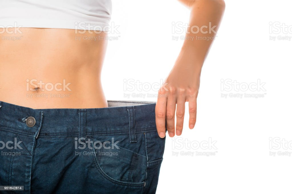 Weight loss and slimming royalty-free stock photo