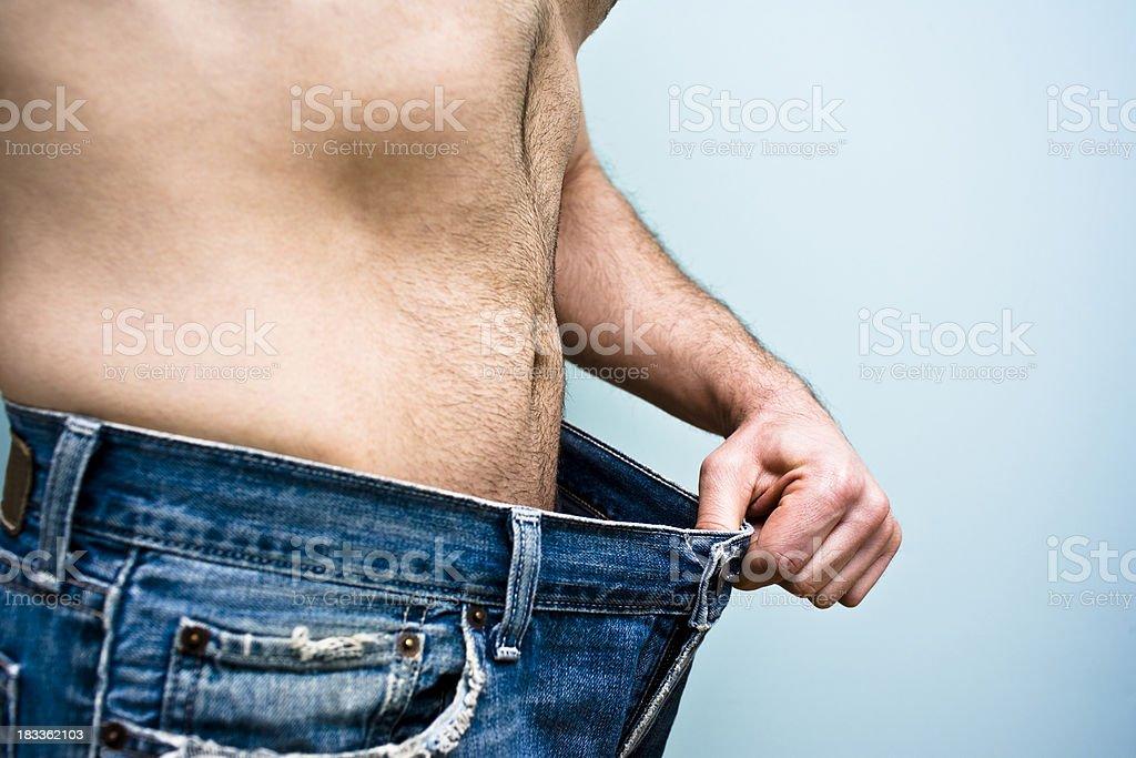 Pérdida de peso - foto de stock