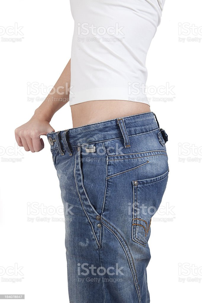 Weight Loss Series royalty-free stock photo