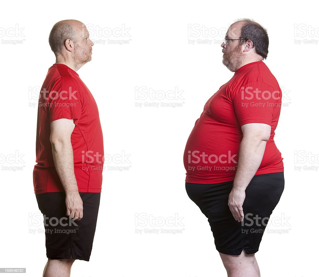 Weight Loss Success royalty-free stock photo
