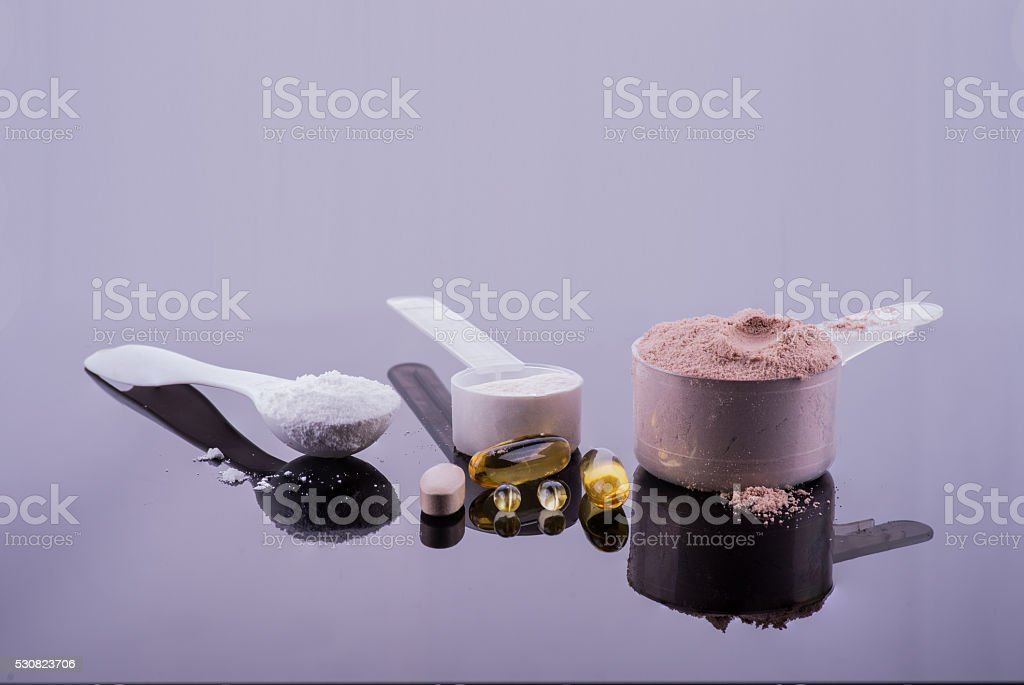 Weight Loss Supplements stock photo
