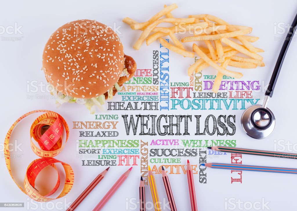 Weight Loss The Inscription On The Table Healthy Diet Lifestyle Body And Mental Health Concept Stock Photo Download Image Now Istock