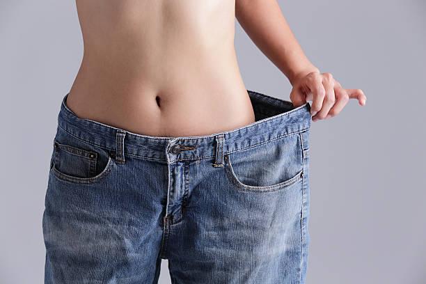 gewicht verlust frau - damen sporthose übergröße stock-fotos und bilder
