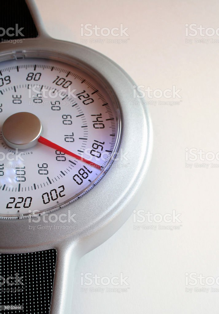 Weight Scale 171 royalty-free stock photo