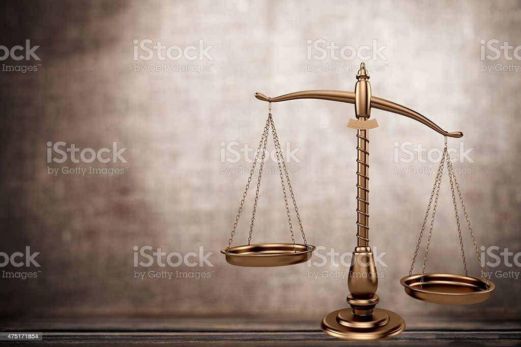 Weight Scale, Balance, Mental Illness stock photo