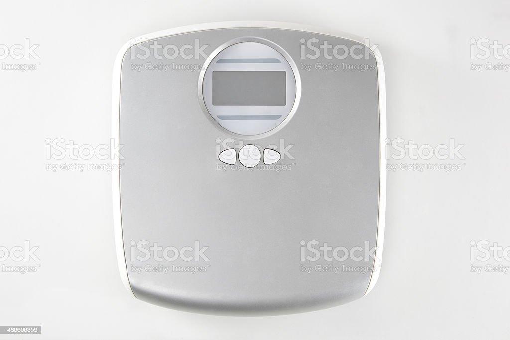 Escala de peso (con trazado de recorte) - foto de stock