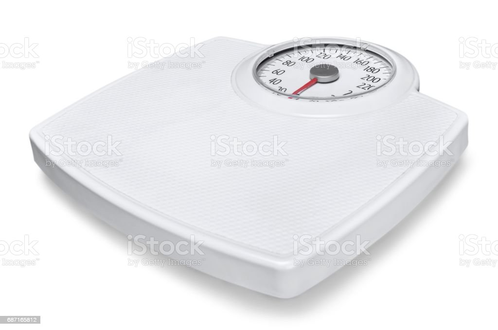 Weight scale. - foto de stock