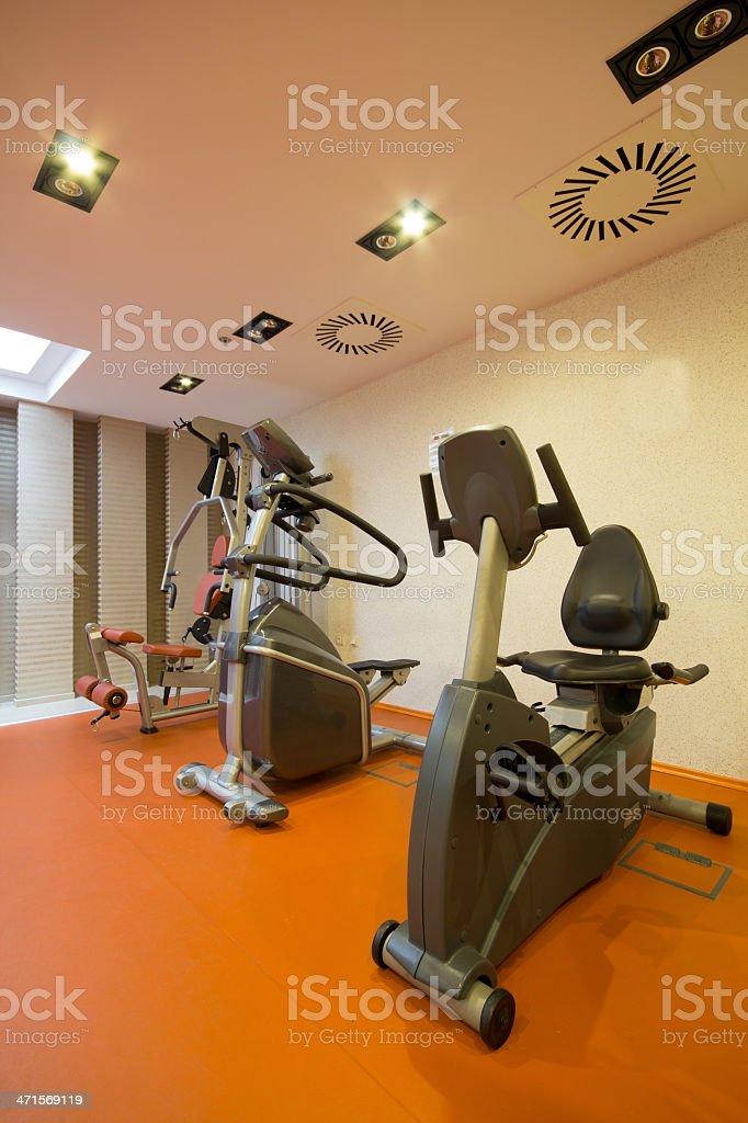 weight training equipment royalty-free stock photo