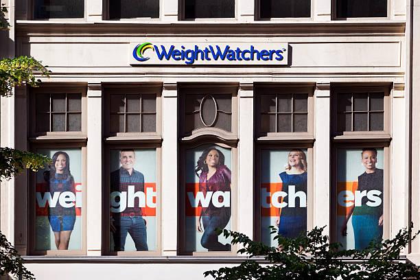 Weight Watchers Store stock photo