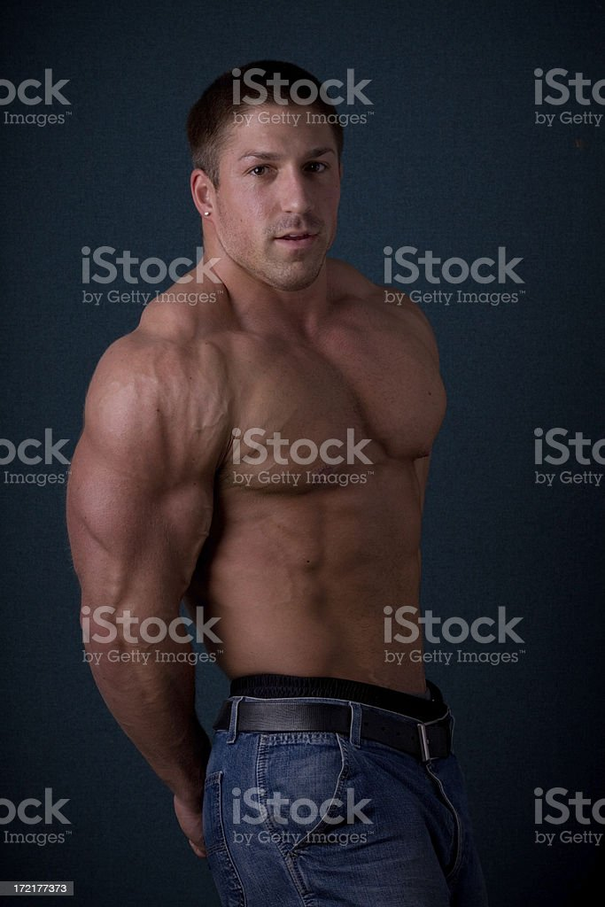 Weightlifter royalty-free stock photo