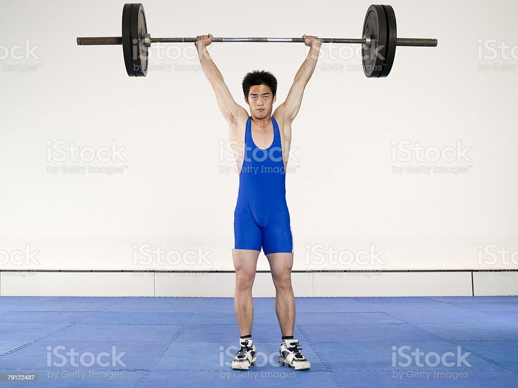 Weightlifter 免版稅 stock photo