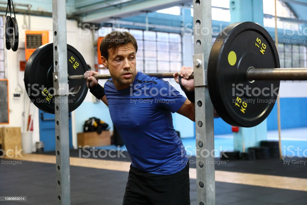 weightlifting - foto stock