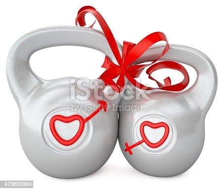 istock Weights love 473800904