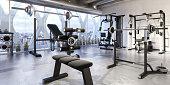 Weights Training Equipment (panoramic)