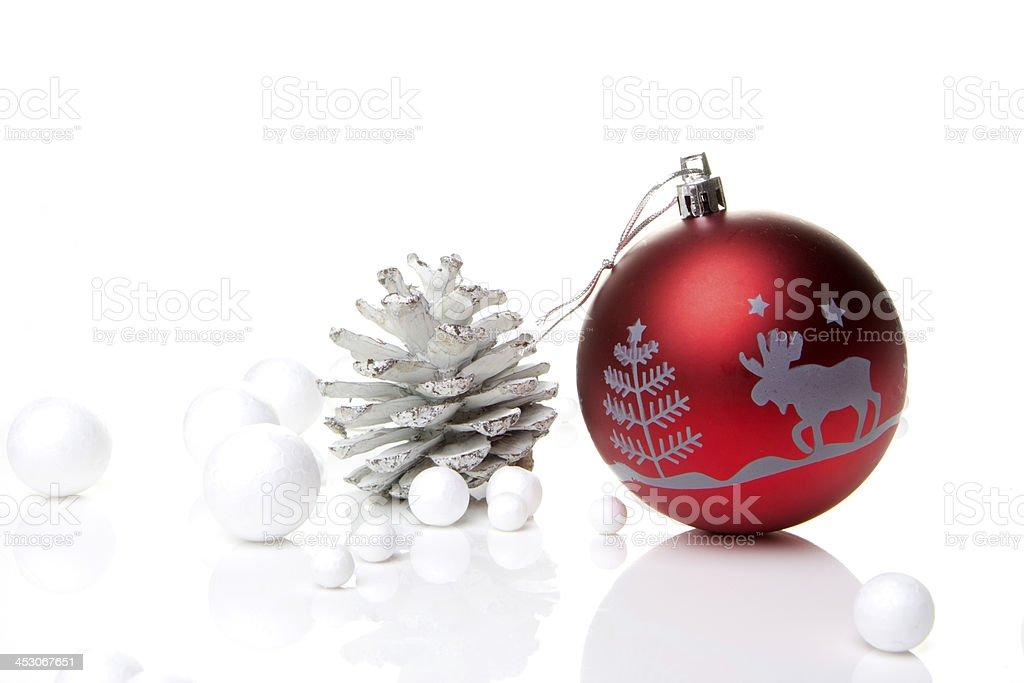 Weihnachten, Weihnachtskugel rot - Royalty-free Advent Stok görsel