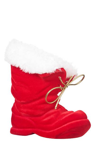 weihnachtsschuh - nikolausstiefel stock-fotos und bilder