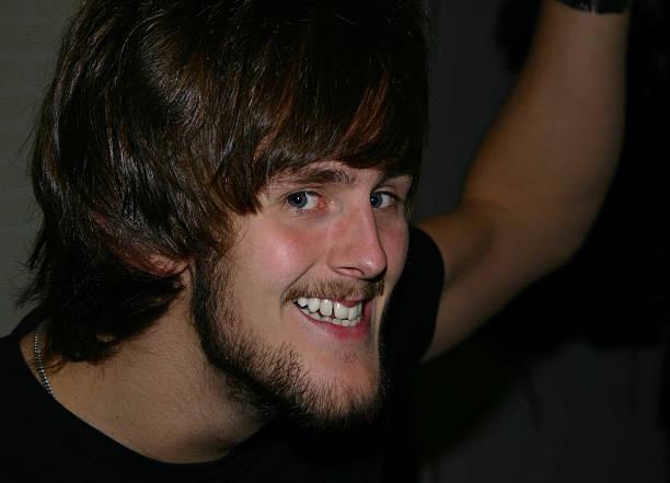 Weird guy! stock photo