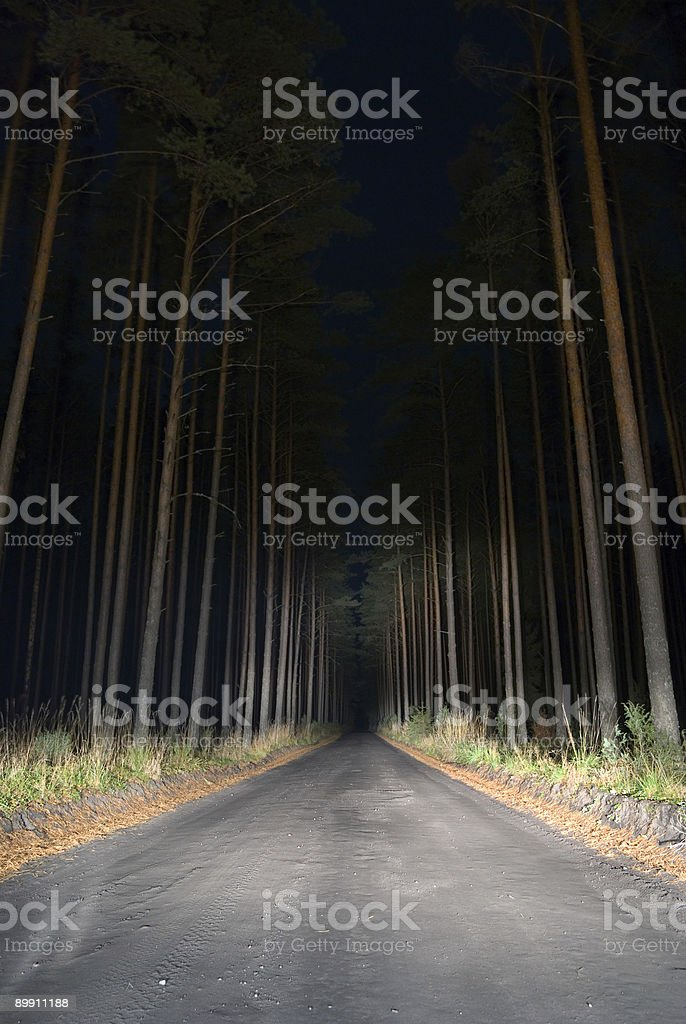 Weird road. royalty-free stock photo