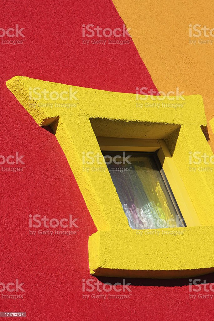 Weird Window Abstract Architecture royalty-free stock photo