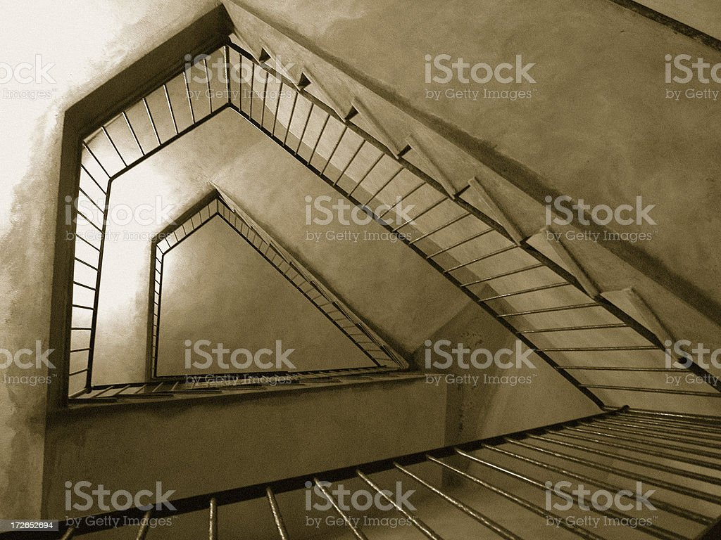 WeirdStairs stock photo