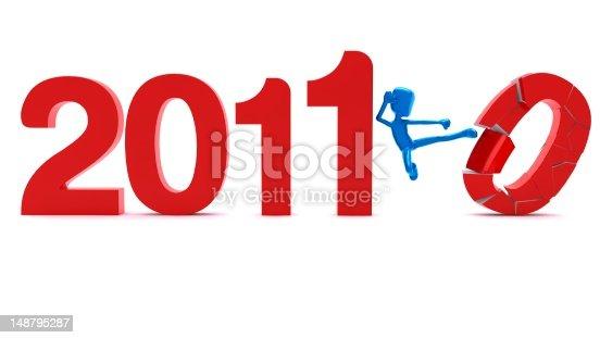 104509114istockphoto Welcome 2011 & Good Bye 2010 148795287
