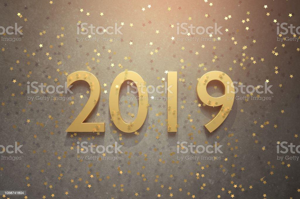 Willkommen-2019! Frohes neues Jahr! – Foto