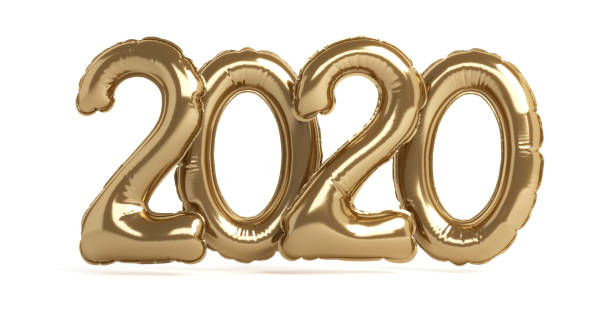 Welcome 2020 stock photo