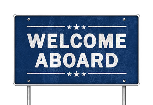 Welcome aboard Welcome aboard aboard stock pictures, royalty-free photos & images