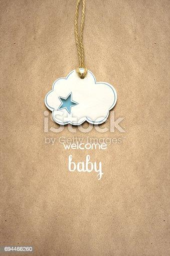 istock Welcome baby. 694466260