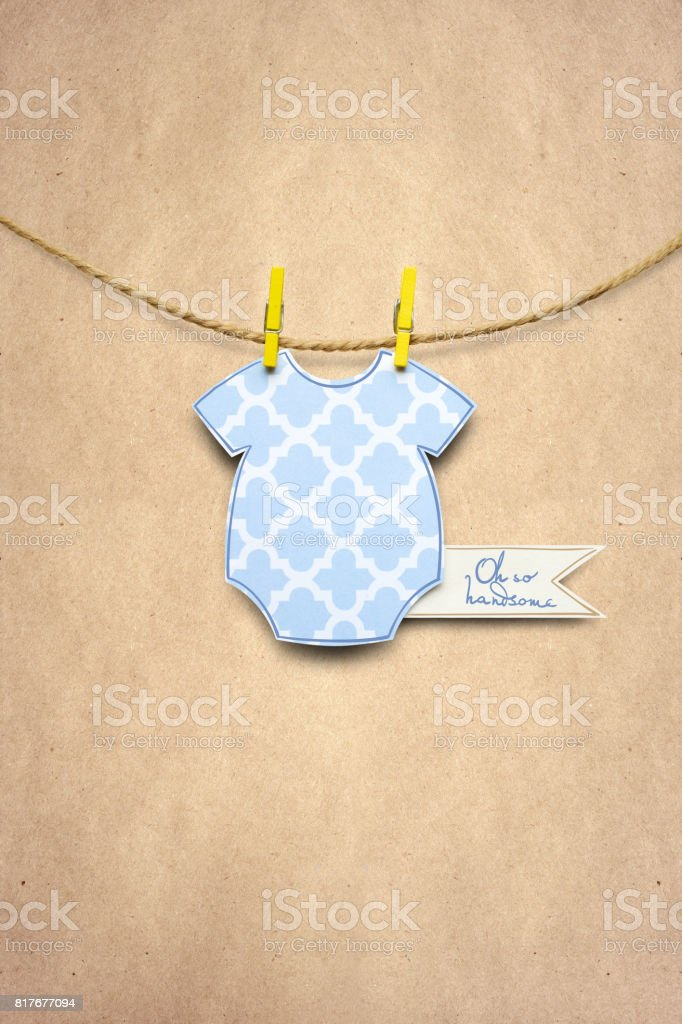 Welcome baby. stock photo