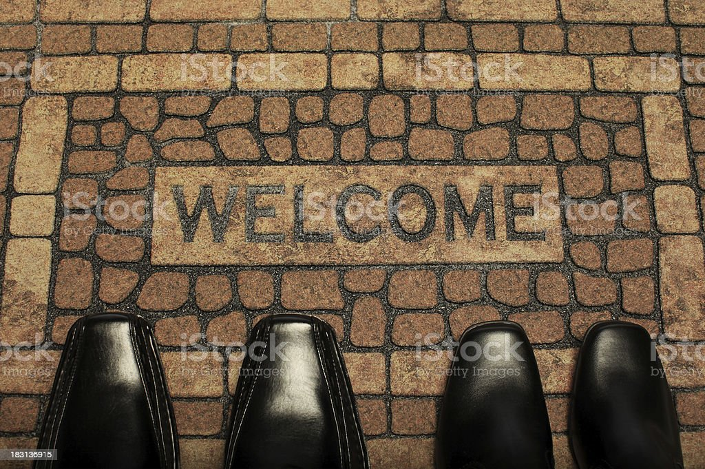 Welcome Back royalty-free stock photo