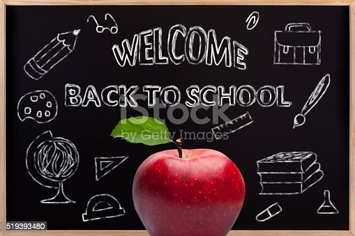 istock Welcome Back To School Concept 519393480