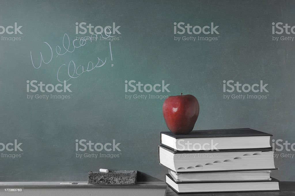 Welcome Class stock photo