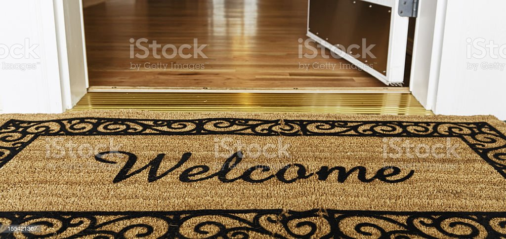 ... Welcome Home Stock Photo ...