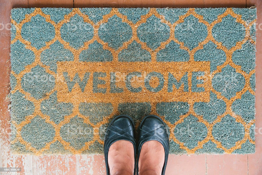 Welcome Home stock photo