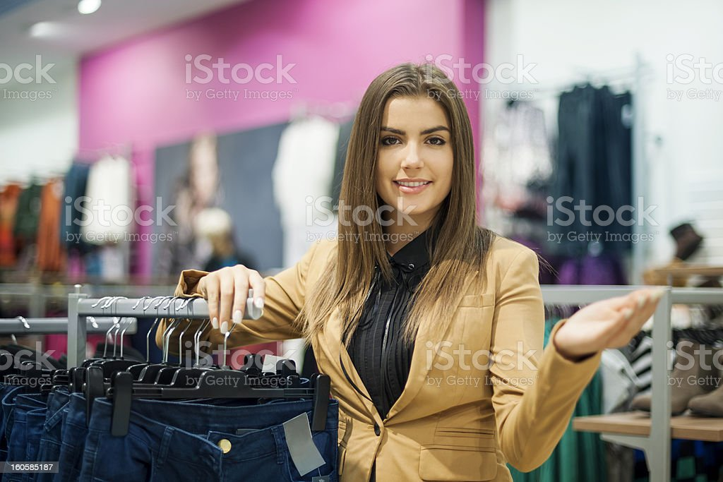 Welcome in my store stock photo