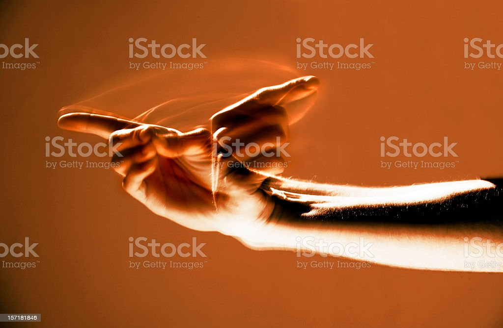 Welcome in Sign Language stock photo
