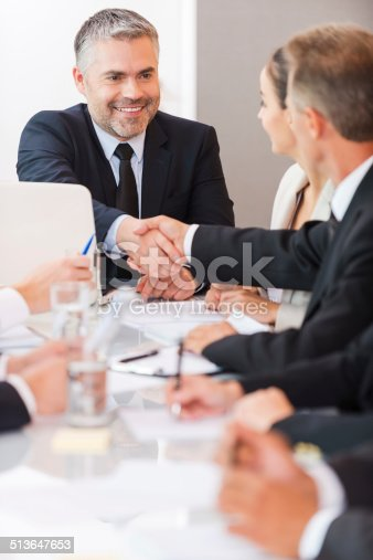 istock Welcome on board! 513647653
