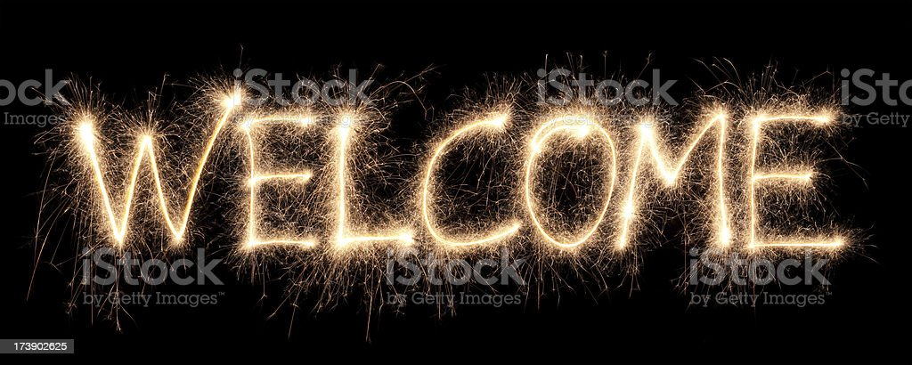 welcome royalty-free stock photo