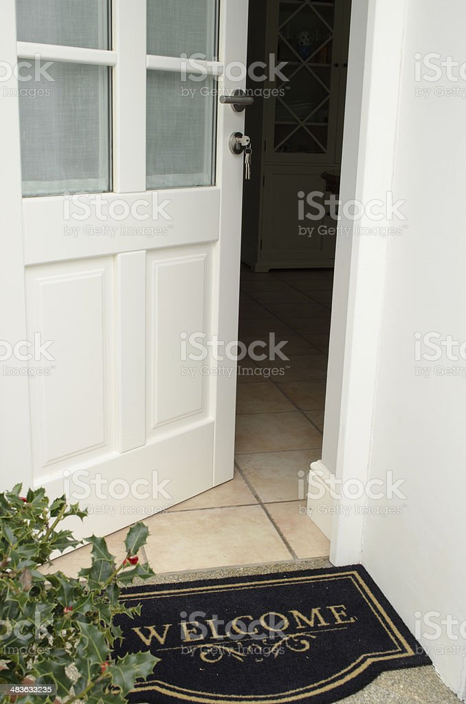 ... Welcome stock photo ... & Front Door Pictures Images and Stock Photos - iStock Pezcame.Com
