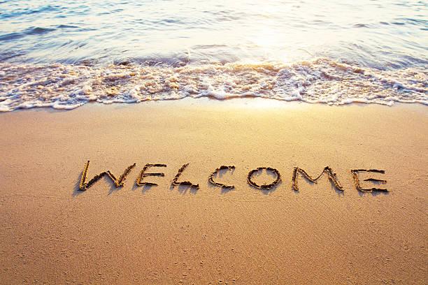 welcome - välkommen bildbanksfoton och bilder