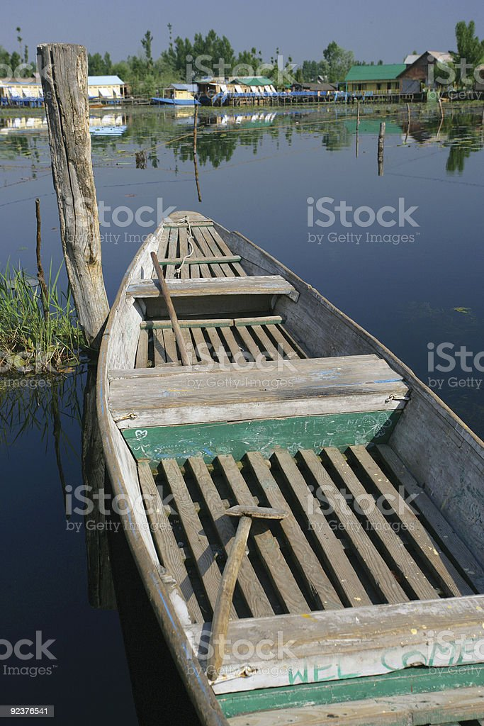 Welcome row boat royalty-free stock photo