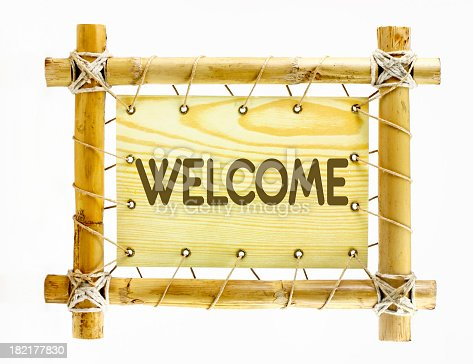 istock Welcome sign 182177830