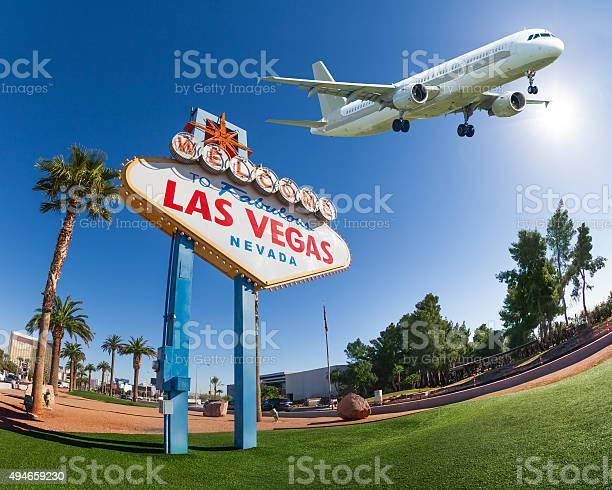 Welcome sign to las vegas with airplane in the sky picture id494659230?b=1&k=6&m=494659230&s=612x612&h=wribrkki694iyxxlizdld2ue5kk2uopyjrtyelgviso=